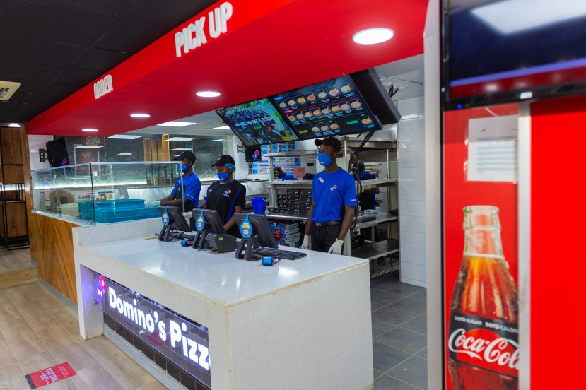 Hello Victoria Island Your Favorite Domino's & Cold Stone Outlet is back bigger and better lindaikejisblog6