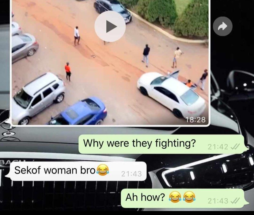 Two students allegedly fight over a girl at KNUST 1