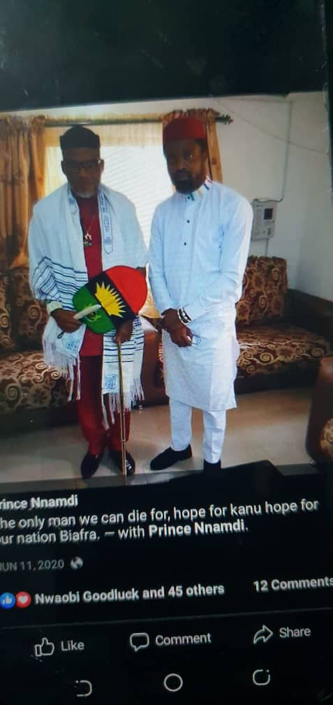 Photo of alleged mastermind of Imo attacks with Nnamdi Kanu surfaces 1