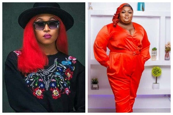 Cynthia Morgan shades Eniola Badmus for saying she doesn't collect money from her lover