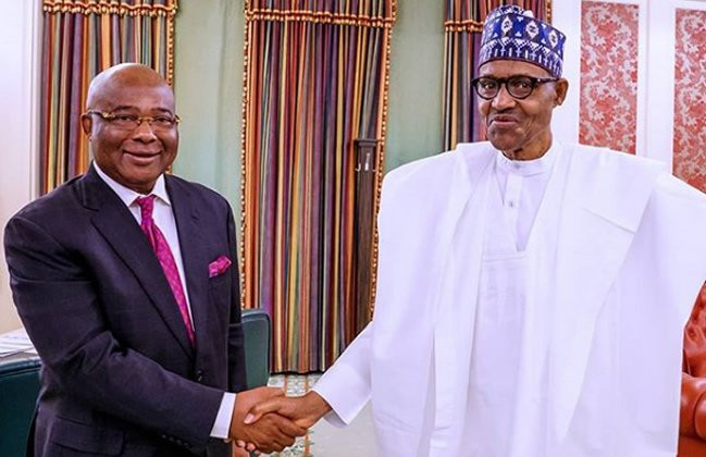 IPOBs sit-at-home order was only on social media Imo people came out - Uzodinma speaks on Buhari's visit