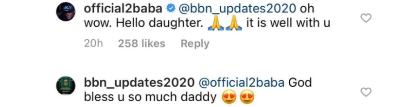 Between Tuface and a lady who claims to be his daughter 2