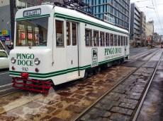 元ポルトガルの首都リスボンの市電