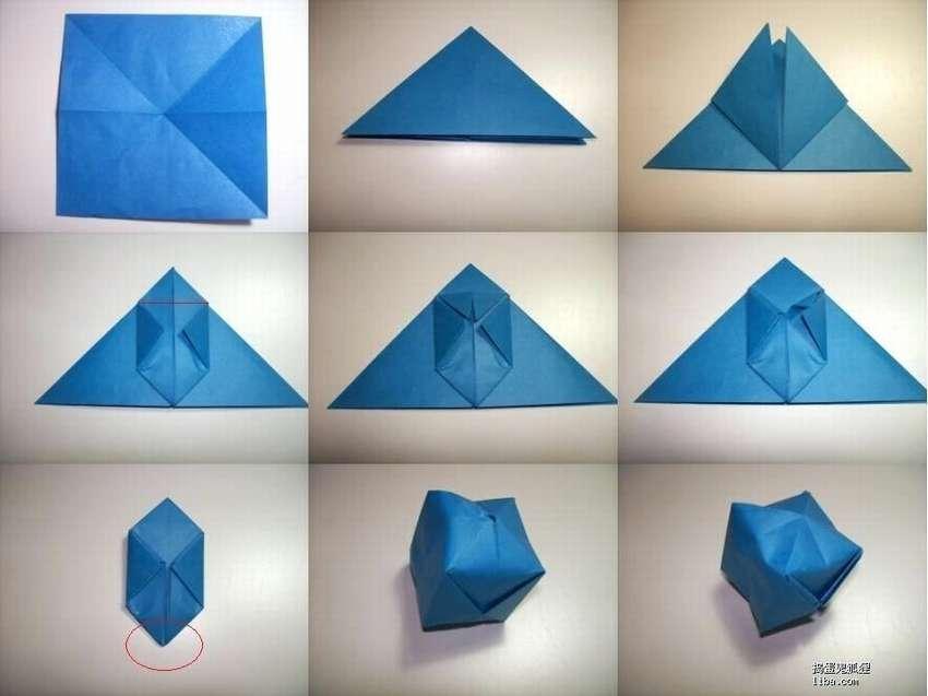 球折纸自己做到了
