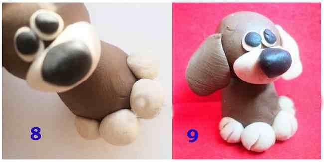 Làm thế nào để làm một con chó từ plasticine. Lepim một chú chó con dễ thương