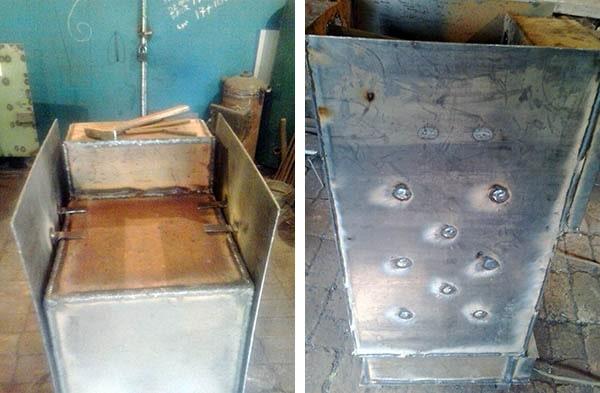Cara Membuat Boiler Kemeja Air