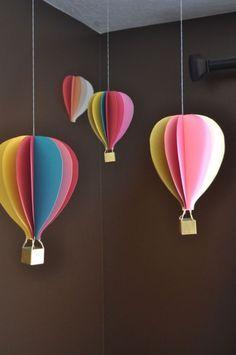 如何制作一个纸气球
