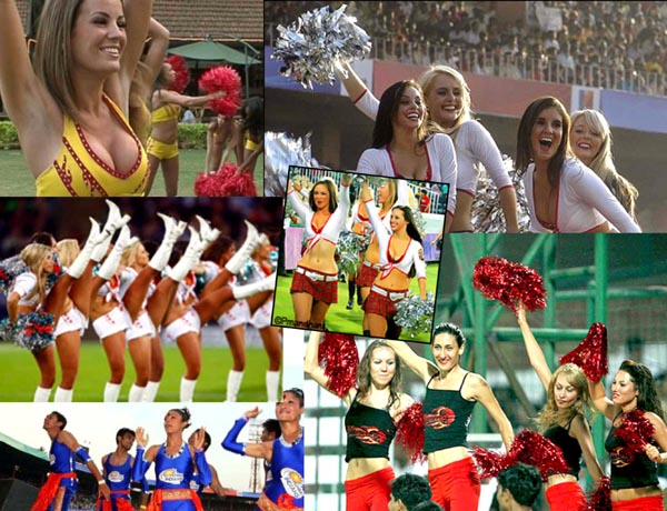 Indian Premier League - Cheerleaders - Before and After