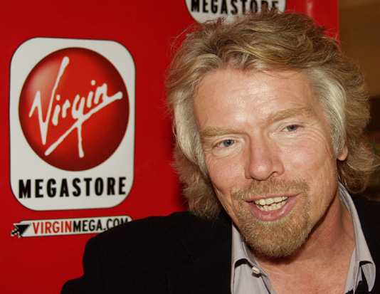 Richard Branson and Virgin