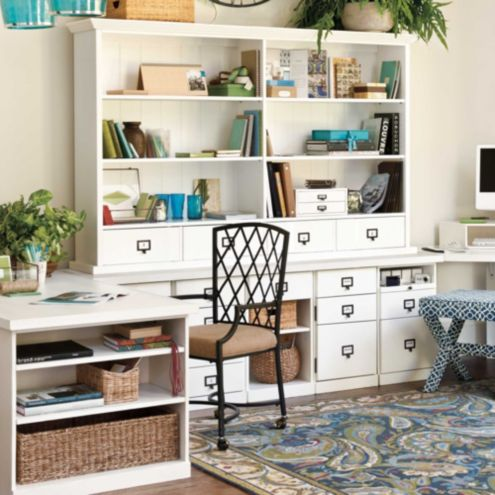 ballard home office design Original Home Office; Customizable Work Furniture   Ballard Designs
