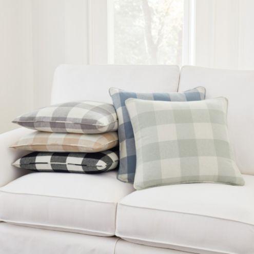 buffalo check sofa cover plus nj pillow ballard designs