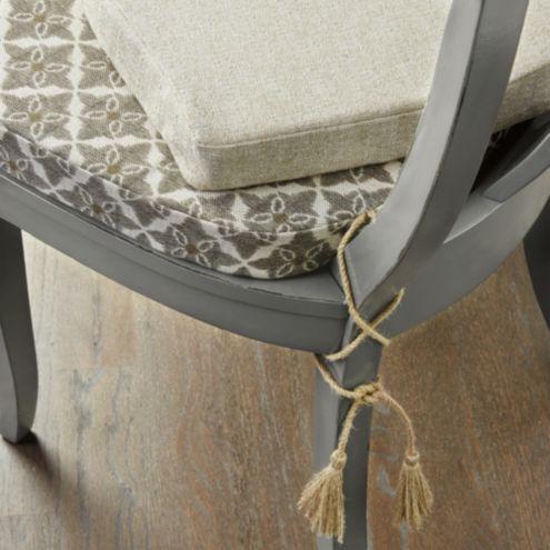 ballard designs dining chair cushions for kid arletta klismos cushion