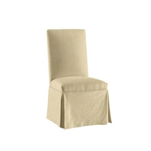 slipcover for armless chair wholesale beach chairs slipcovers ballard designs parsons suzanne kasler signature 13oz linen