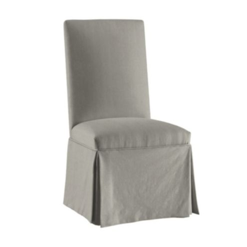 grey parson chair slipcovers gray leather dining suzanne kasler signature duck parsons slipcover ballard designs