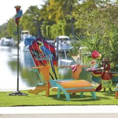 Margaritaville Chairs For Sale Chair Covers Outdoor Furniture 5 O Clock Somewhere Adirondack And Ottoman Frontgate