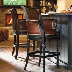 Counter Height Bar Chairs Leather Recliner Chair Modern Chesterfield Swivel And Stools Frontgate