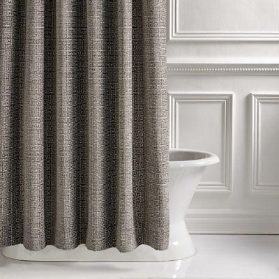 murano taupe shower curtain