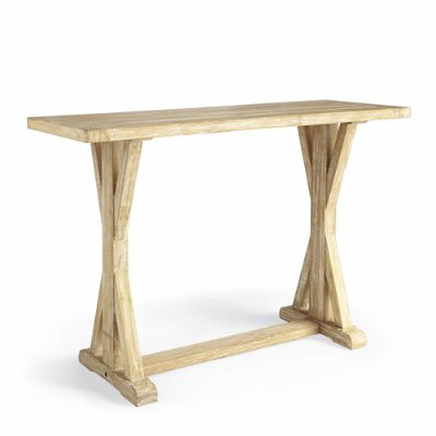teak sofa table diy patio plans washed console frontgate
