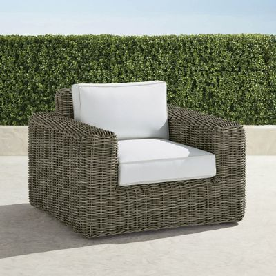 frontgate outdoor lounge chairs wood side vista chair with cushions
