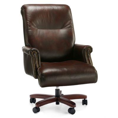 posture executive leather chair christmas covers dubai breton frontgate