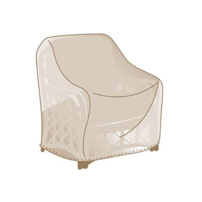 club chair covers custom embroidered directors chairs frontgate signature furniture fleece lined universal lounge cover