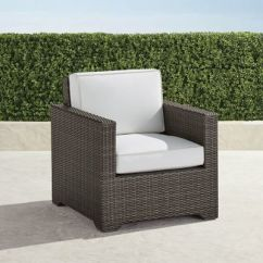 Frontgate Outdoor Lounge Chairs Posture Chair Amazon Uk Small Palermo With Cushions In Bronze Finish
