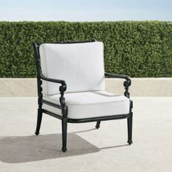 Frontgate Outdoor Lounge Chairs Spinning Top Chair Carlisle With Cushions In Onyx Finish