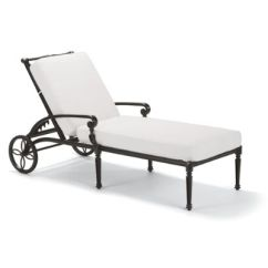 Cheap Chaise Lounge Chairs Swivel Chair Oversized Frontgate Carlisle With Cushions In Onyx Finish