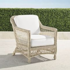 Frontgate Outdoor Lounge Chairs Zero Gravity Leather Chair Canada Hampton With Cushions In Ivory Finish