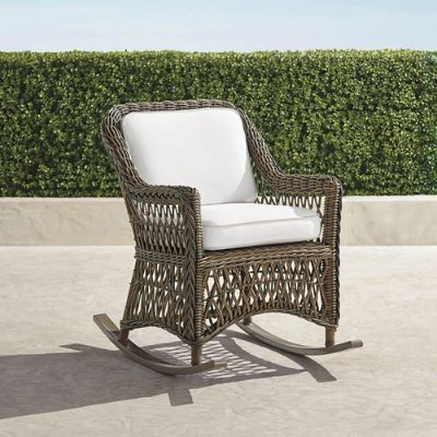 chair stand hsn code lightweight folding lawn chairs hampton rocker with cushions in driftwood finish frontgate