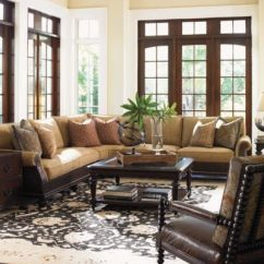 Tommy Bahama Living Room For Kids Island Traditions Rust By Frontgate Westbury Wedge Sectional
