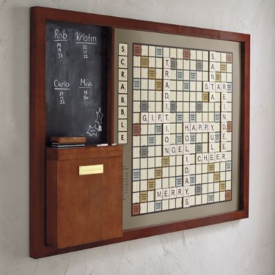 Oversized Wall Scrabble Frontgate