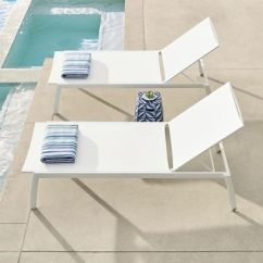 Frontgate Outdoor Lounge Chairs Leap Chair Steelcase Newport Set Of Two Chaise