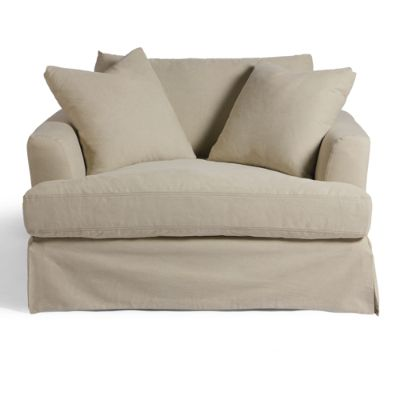 slipcover for chair and a half master bedroom rail ava seating sectional collection slipcovers grandin road