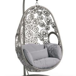 Chair Stand Hsn Code Ergonomic Design Guidelines Wellfleet Egg In Floral Grey Frame With Cushion Grandin