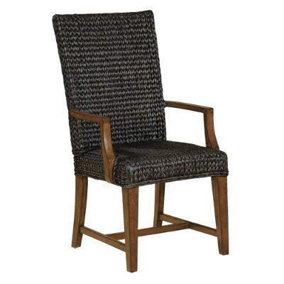 seagrass arm chair turquoise armchair grandin road