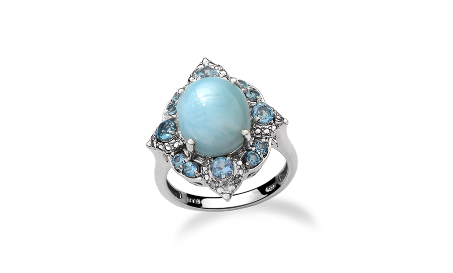 Larimar Stone Meaning Properties Jewelry Information