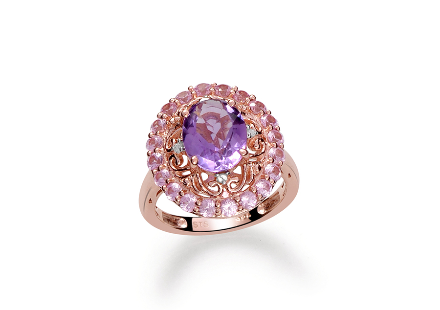 Rose De France Amethyst Stone Meaning Value History
