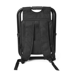 Folding Chair With Cooler Kimball Office Black Portable Back Pack 20x14