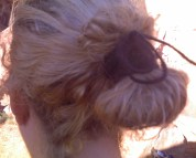 Navajo Hair Bun