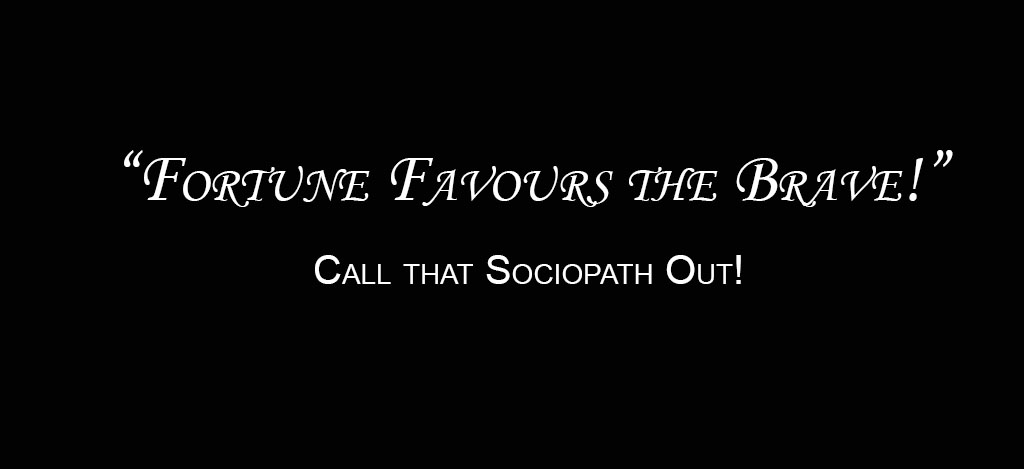How to deal with a sociopath ex husband