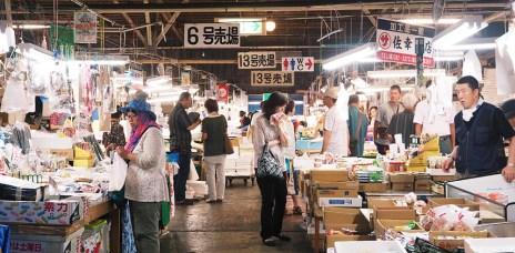 東北宮城⎮鹽釜市場 挑選新鮮生魚片 海鮮蓋飯DIY