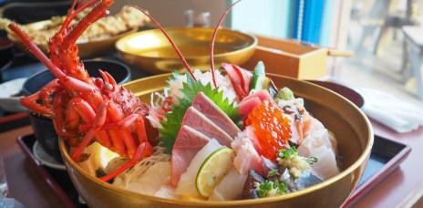 千葉南房總「潮風王國」望海享受大份量海鮮料理