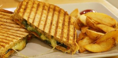 【台中西區】日嚐 Deli771- 帕尼尼,熱熱的最好吃