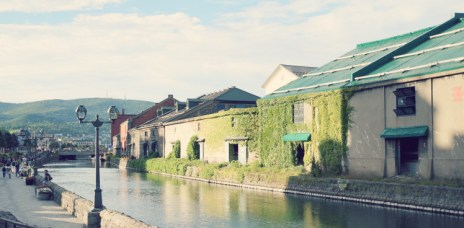 【北海道小樽】小樽運河散策 夏季浪漫風景