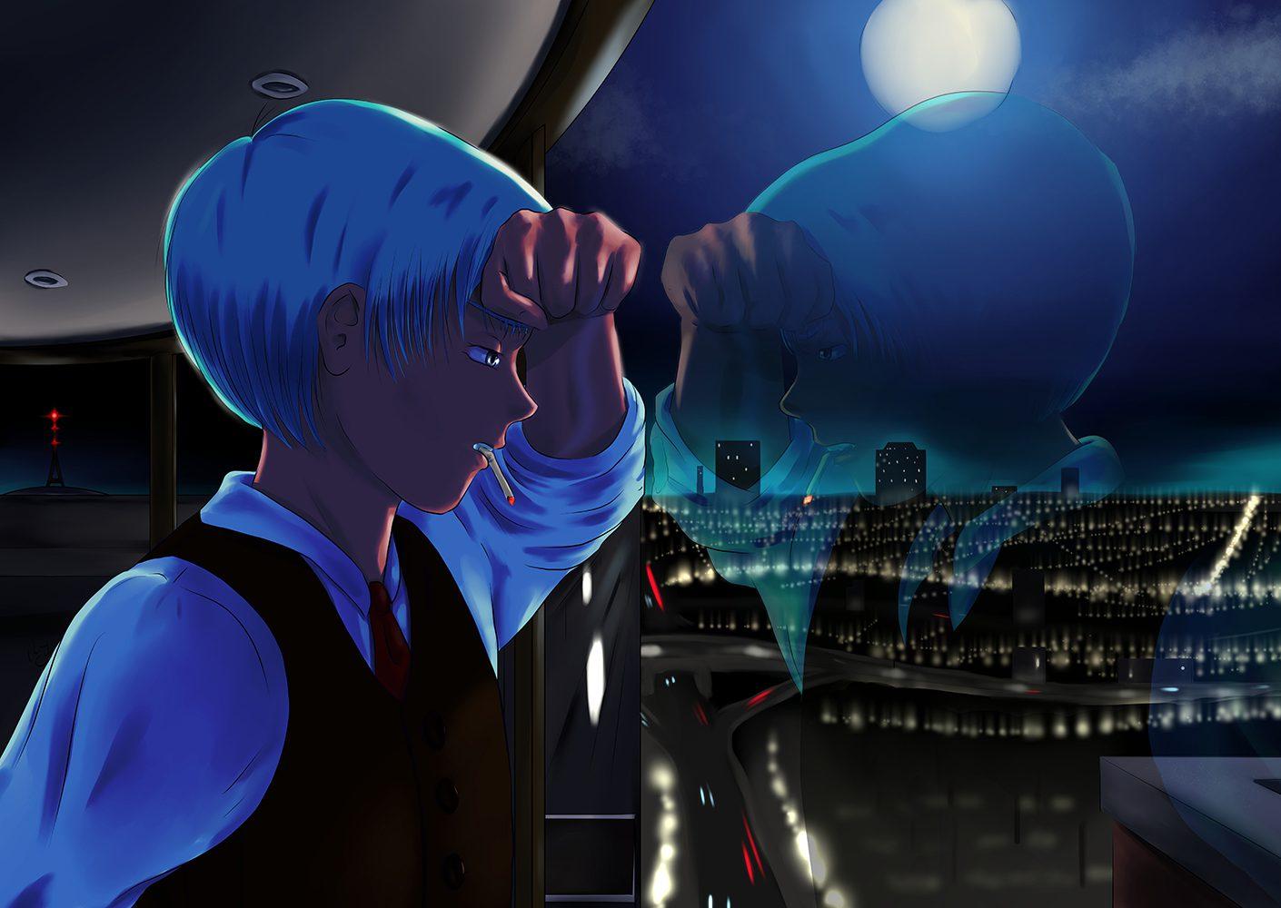 City Window 2 anime illustration