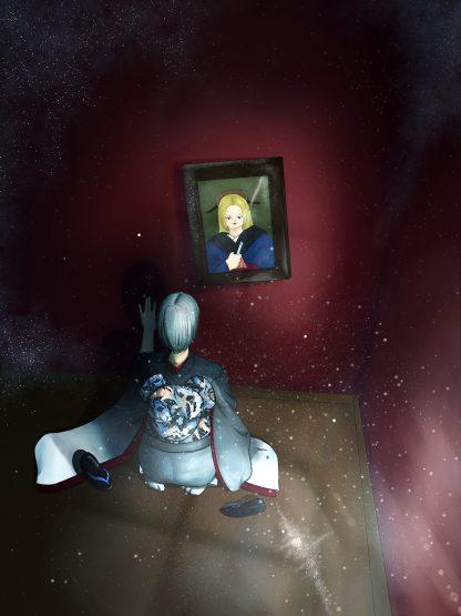 Silent Envy anime illustration