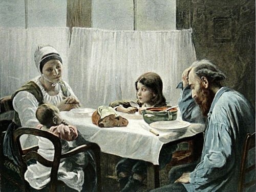 A Family Meal by Elizabeth Nourse