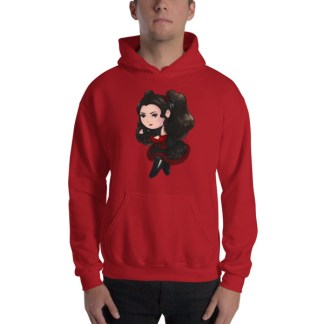 Chibi Gothic Lolita Ekali Hooded Sweatshirt