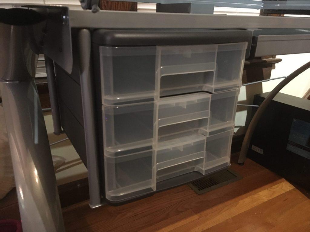 New Desk - Drawers Detail